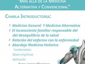 """""""Más allá de la Medicina Alternativa y Convencional"""""""
